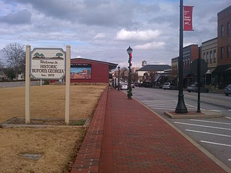 Buford, Georgia - Main Street