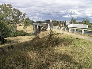 Bundarra, New South Wales - Gwydir River bridge