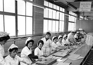 Italians in Germany - Italian workers in Cologne in 1962