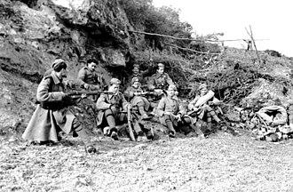 Security Battalions - Image: Bundesarchiv Bild 101I 178 1536 18A, Griechenland, griechische Soldaten