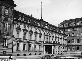 Embassy of France, Berlin - Palais Beauvryé, former building of the French embassy in Berlin, photographed in 1937