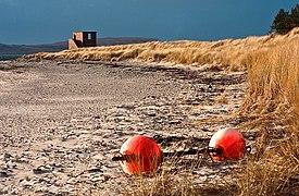 Buoys on Point Sands - geograph.org.uk - 1751532.jpg