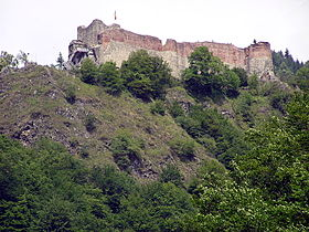 Image illustrative de l'article Citadelle de Poenari