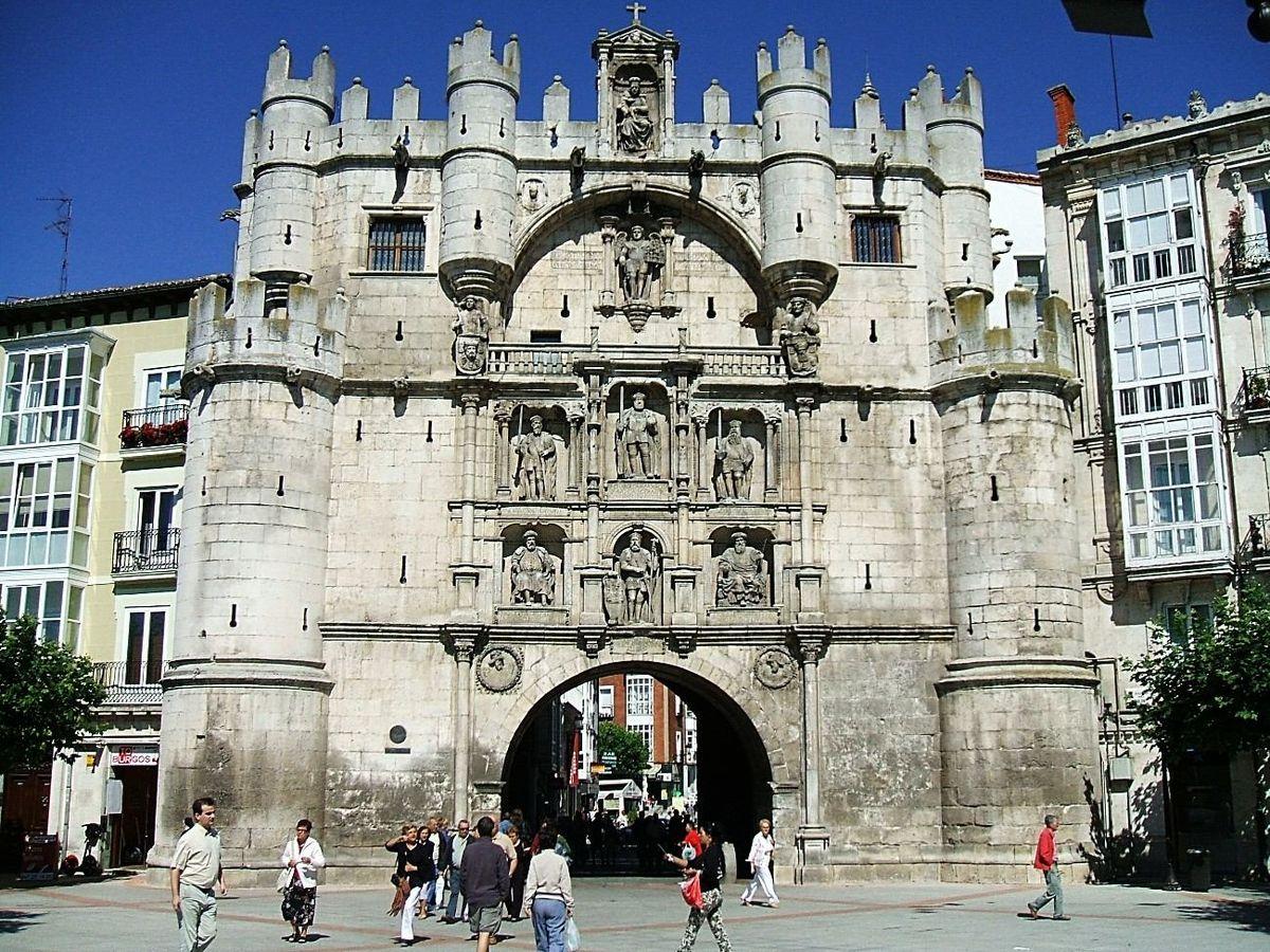 Arco de santa mar a wikipedia la enciclopedia libre for Puertas en forma de arco