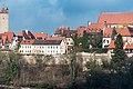 Burgweg Panorama vom Mühlacker Rothenburg ob der Tauber 20180216 009.jpg