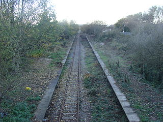 Burn Naze Halt railway station