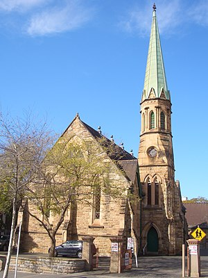 Arthur Cuthbertson - Image: Burwood Uniting Church