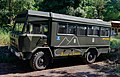 Bus shuttle - national park Vesuvius - Campania - Italy - July 9th 2013 - 01.jpg