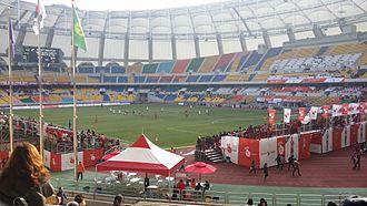 South Korea 2022 FIFA World Cup bid - Image: Busan Asiad Stadium