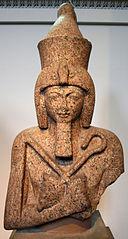 Busto de granito de Ramsés II