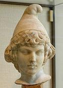 Buste dAttis portant le bonnet phrygien, II e siècle ap. J.,C., Cabinet des médailles de la Bibliothèque nationale de France.