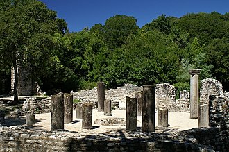 Buthrotum - Remains of the baptistery