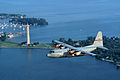 C-130H Ohio ANG over Perry Monument 2008.jpg