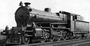 Victorian Railways C class - C 16 circa 1923, as converted to run on pulverised brown coal