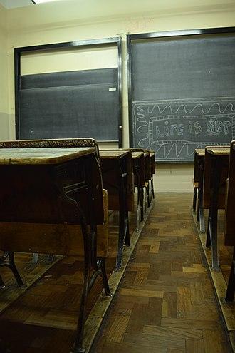 Escuela Superior de Comercio Carlos Pellegrini - Image: CABA Escuela Superior de Comercio Carlos Pellegrini (aula 02)