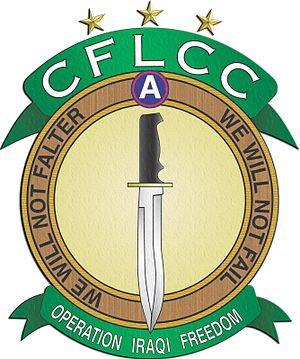 Coalition Forces Land Component Command - Image: CFLCC OIF 2