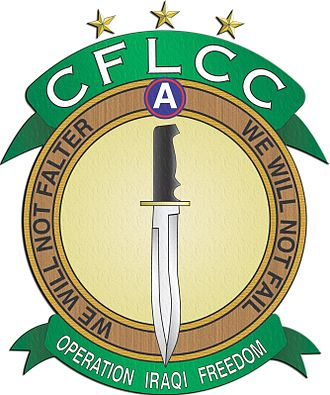 Coalition Forces Land Component Command - Image: CFLCC OIF 2