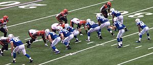 2014 Indianapolis Colts season - Colts offense playing against the Bengals.