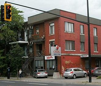 CKDG-FM - Studios and offices of CKDG-FM on Avenue du Parc in Montreal