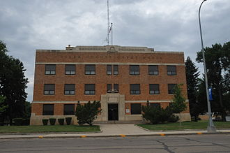 Clark County, South Dakota - Image: CLARK COUNTY COURTHOUSE, CLARK,SD