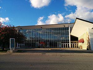 Queen Elizabeth Theatre (Toronto) - View of Queen Elizabeth Theatre south facade