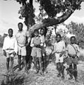 COLLECTIE TROPENMUSEUM Portret van een groep Zulu jongens uit Natal TMnr 10004285.jpg