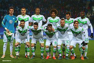 2015–16 VfL Wolfsburg season - Wolfsburg prior to its Champions League match against CSKA Moscow on 25 November 2015.