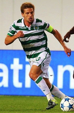 Adrien Silva - Silva playing for Sporting in 2015