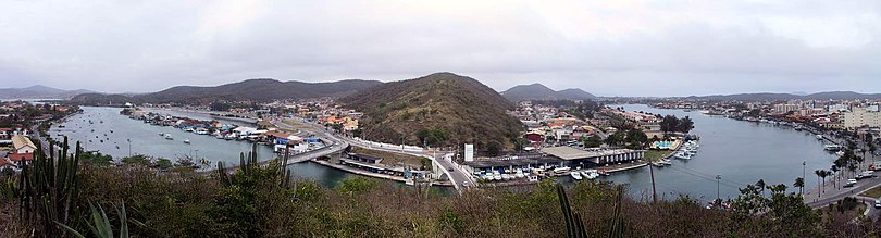 Panorama da Ponte Feliciano Sodré.