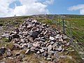 Cairn near top of Cheviot - geograph.org.uk - 209085.jpg