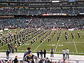 Cal Band performing pregame at 2008 Emerald Bowl 03.JPG