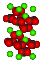 The unit cell of calcite