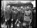 Calvin Coolidge and group at White House, Washington, D.C. LCCN2016888775.tif