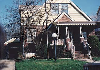 Cambria Heights, Queens - House of Tony Santiago on 117-39 220th ST. Cambria Heights, Queens, NY.