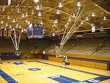 Duke's famous basketball court