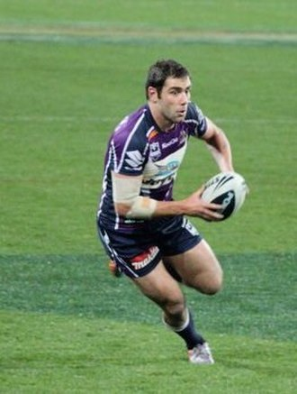 Rugby league positions - Cameron Smith, captain of Australia, Queensland and Melbourne Storm.