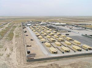 Le camp Marmal est une caserne de la Force internationale d'assistance et de sécurité construit en 2006 pour assurer une présence militaire internationale dans pays.