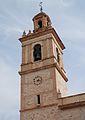 Campanar de l'església de sant Vicent màrtir, Benimàmet.JPG