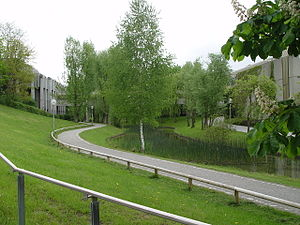 University of Augsburg - Scene from the main campus of the University of Augsburg