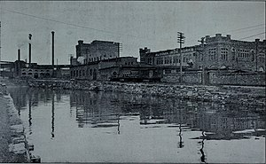 James Hamet Dunn - The Algoma Works as they appeared in 1905, three years before Dunn became involved in the corporation.