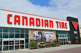 Canadian Tire - Canadian Tire store in Markham, Ontario