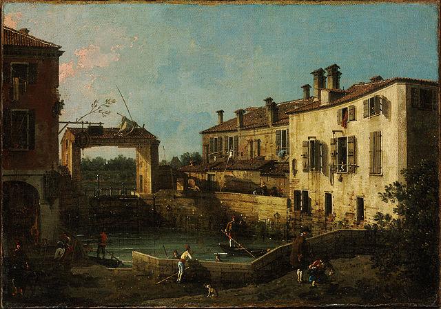 Toile de Canaletto