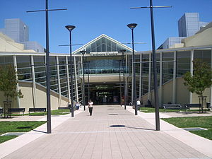 Canberra Centre - The new front of the Canberra Centre on Ainslie Avenue