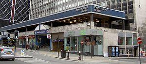 John Poulson - Cannon Street railway station, a Poulson building
