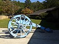 Cannon at visitors center, Horseshoe Bend NMP.jpg