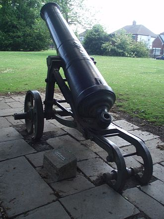 Darlington - Russian Crimean War Cannon from Sevastopol in South Park