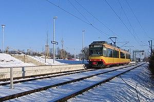 Heilbronn Stadtbahn - Terminus of the Stadtbahn in Öhringen-Cappel