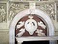 Cappella di filippo strozzi, tomba, benedetto da maiano 02.JPG