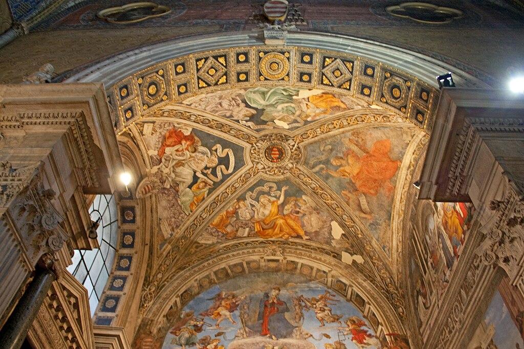 Carafa chapel ceiling 2010.jpg