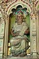 Cardiff Castle - Bibliothek Allegorien Literatur 3 Assyrisch.jpg